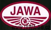 Logo sloučených motocyklových výrobců Jawa-ČZ