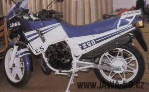 Prototyp Jawy 250 Enduro