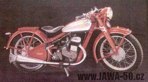 Motocykl Jawa 350 SV