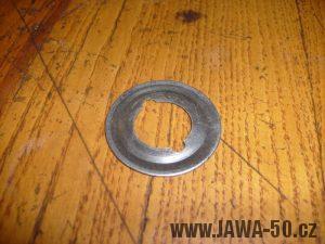 Plechová vymezovací podložka distanční trubičky náboje kola