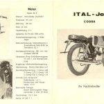 Dobový prospekt Italemmezeta ItalJet Mustang