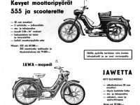 Reklama Jawa 555 Finsko