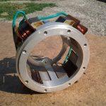 Prototypové kontaktní zapalování mopedu Jawa 206 Mofa