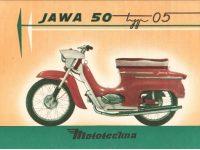 Mototechna reklamní prospekt Jawa 05 Pionýr