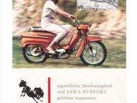 Reklamní prospekt Jawa 05 Sport (NDR)
