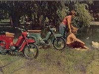 Reklamní prospekt Jawa 555 - export