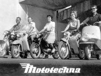Reklamní prospekt Mototechny - Motocykly Jawa, ČZ, Tatran
