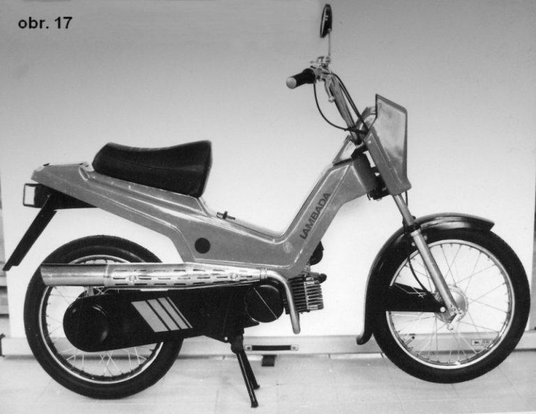 Prototyp mopedu Babetta Lambada I