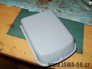 Jawa 05 - kastlík (schránka) na nářadí
