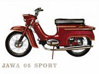 Vývozní Jawa 50 typ 05 Sport - prospekt 1966