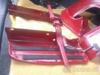 Revmaplech Jawa 555 - sada novějšího provedení (od roku 1962) - podlážky a kříž
