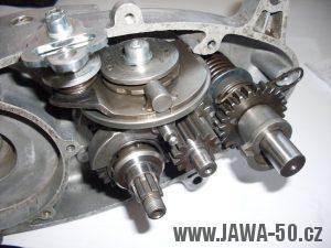 Pětistupňová převodovka Jawa 50 (Walter)