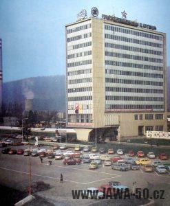 ZVL Považské strojírny Považská Bystrica - správní budova