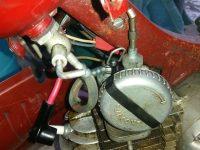 Jawa 550 Pionýr (pařez) - novější provedení karburátoru Jikov 2912P