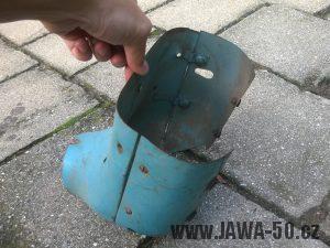 Přední kryt Jawa 555 prsíčka, skútrové provedení