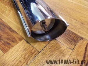 Výfuk Jawa 50 (typ 20, 21, 23 Mustang) - poslední provedení (tlumič)