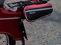 Nosič zavazadel z bicyklu upravený pro Jawa 50 Pionýr