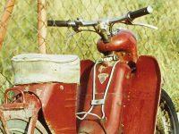 Originální nosič Jawa 550, 555