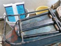 Přídavný nosič zavazadel pro motocykl Jawa 555 Pionýr