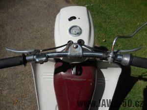 Vývozní motocykl Jawa 50 typ 05 pionýr z roku 1964 pro USA