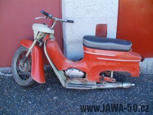 Motocykl Jawa 50 typ 20 Pionýr z roku 1967