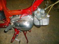Motocykl Jawa 50 typ 05 Pionýr z roku 1963 v původním stavu - motor