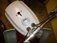 Motocykl Jawa 50 typ 05 Pionýr z roku 1963 v původním stavu - tachometr PAL