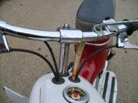 Motocykl Jawa 50 typ 05 Pionýr z roku 1963 v původním stavu - řídítka