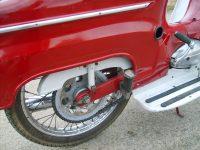 Motocykl Jawa 50 typ 05 Pionýr z roku 1963 v původním stavu