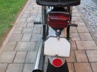 Vývozní (přiškrcený) motocykl Jawa 50 typ 223.200 Mustang pro Maďarsko z roku 1982 - čistá registrační značka (SPZ)
