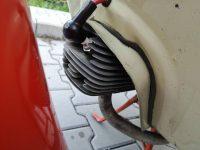 Motocykl Jawa 50 typ 20 Pionýr z roku 1969 v původním stavu - límec (plech) kolem válce motoru