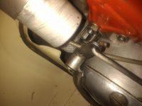 Motocykl Jawa 50 typ 20 Pionýr z roku 1969 v původním stavu - radící páka