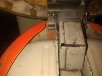Motocykl Jawa 50 typ 20 Pionýr z roku 1969 v původním stavu - pant odklápění sedadla