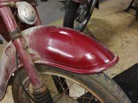 Motocykl Jawa 50 typ 555 Pionýr z roku 1960 v původním stavu - přední blatník