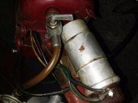 Motocykl Jawa 50 typ 555 Pionýr z roku 1960 v původním stavu - palivový kohoutek