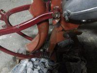 Motocykl Jawa 50 typ 555 Pionýr z roku 1960 v původním stavu - kyvná vidlice a podblatník