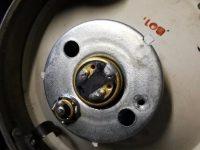 Motocykl Jawa 50 typ 555 Pionýr z roku 1960 v původním stavu - přední světlomet (parabola)