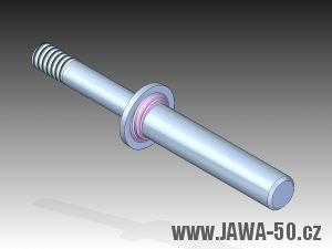 3D model čepu řadící páky motoru Jawa 05 (1962 - 1966)