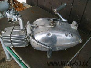 Motor Jawa 05 (1962) - řadící páka