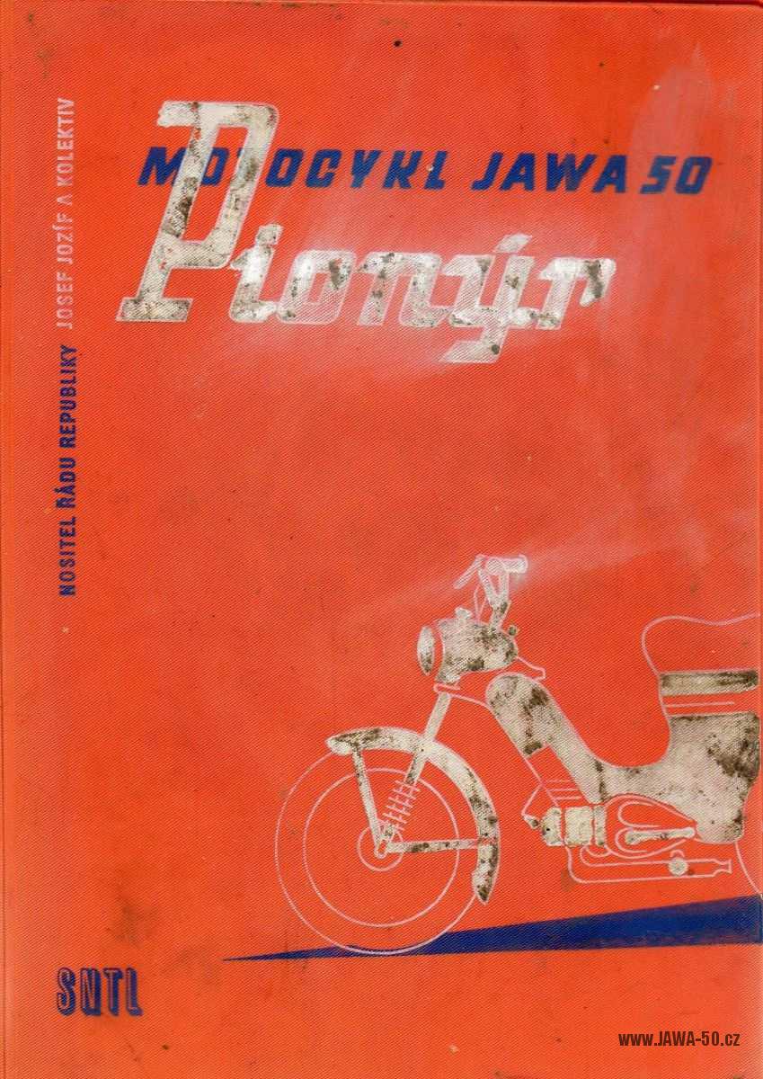 Motocykl Jawa 50 Pionýr - Josef Jozíf (1959)