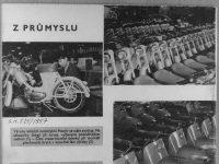 Svět Motorů 25/1957 Z průmyslu - Jawa 550 s novým sedadlem