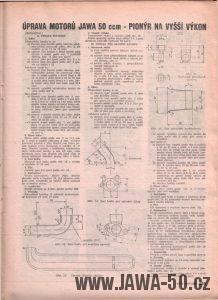 Svět Motorů 13/1958 (strana 405) - Úprava Pionýra na vyšší výkonyssi-vykon