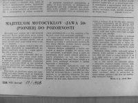 Svět Motorů 17/1958 - Majiteľom motocyklov Jawa 50 (Pionier) do pozornosti (rady nastavení karburátorů Jikov 2912)