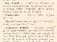 Svět Motorů 1/1967 (strana 30) - Úprava motoru motocyklu Pionýr pro závody a soutěže