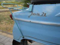 Jawa 21 Sport z roku 1967 v původním stavu - zadní blatník