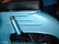 Motoscoot Jawa 555 New Pionýr - barevná provedení - modrá metalíza