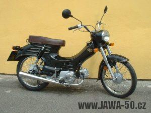 Motoscoot Jawa 555 New Pionýr - sériové černé provedení