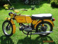 Vývozní motocykl Jawa 50 typ 23 Golden Sport z roku 1972