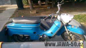 Motocykl Jawa 50 typ 21 Sport z roku 1974
