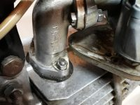 Vývozní motocykl Jawa 23A Mustang z roku 1973 v originálním stavu - karburátor